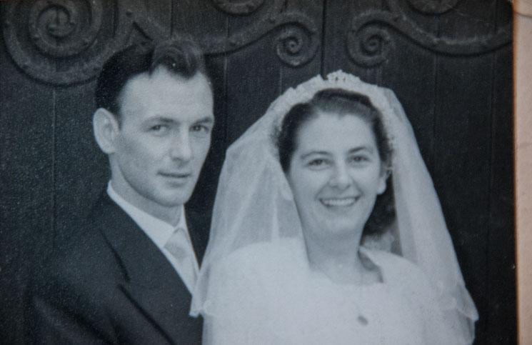 Elsie-Paine-wedding